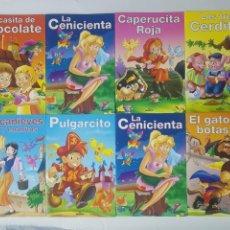 Libros antiguos: GRAFALCO COLECCION 8 CUENTOS · BLANCANIEVES, PULGARCITO, CENICIENTA, 3 CERDITOS, PULGARCITO.... Lote 222579658
