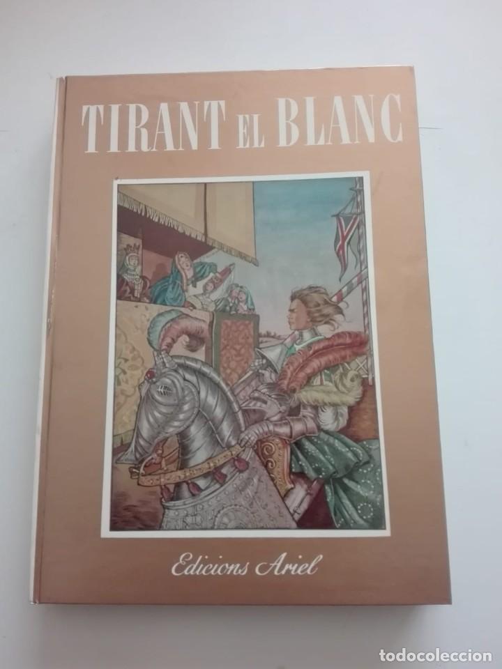 LIBRO TIRANT EL BLANC - DIBUIXOS I AQUAREL-LES ELVIRA ELIAS - BARCELONA 1954 - EDICIONS ARIEL (Libros Antiguos, Raros y Curiosos - Literatura Infantil y Juvenil - Cuentos)