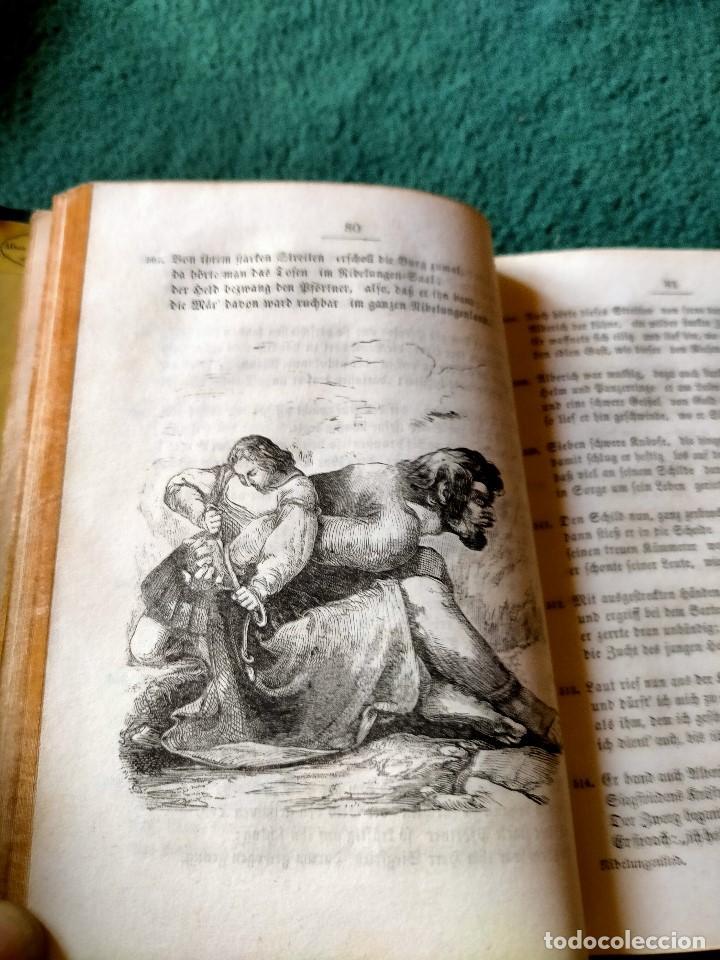 Libros antiguos: ANTIGUO LIBRO LENGUA ALEMANA. LA CANCIÓN DE NIBELUNG DEL ALEMÁN MEDIO. BERLÍN 1854 - Foto 7 - 222749216