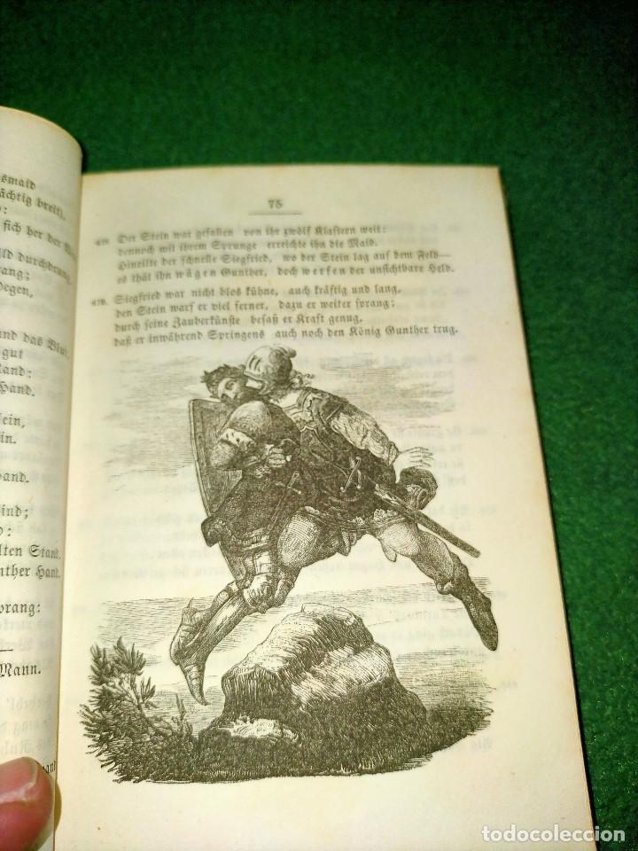 Libros antiguos: ANTIGUO LIBRO LENGUA ALEMANA. LA CANCIÓN DE NIBELUNG DEL ALEMÁN MEDIO. BERLÍN 1854 - Foto 8 - 222749216