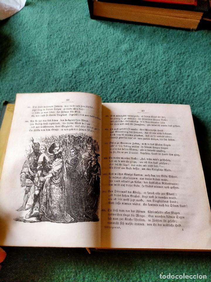 Libros antiguos: ANTIGUO LIBRO LENGUA ALEMANA. LA CANCIÓN DE NIBELUNG DEL ALEMÁN MEDIO. BERLÍN 1854 - Foto 9 - 222749216