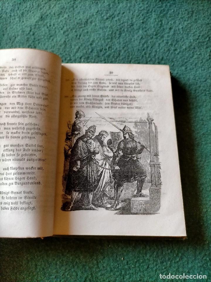 Libros antiguos: ANTIGUO LIBRO LENGUA ALEMANA. LA CANCIÓN DE NIBELUNG DEL ALEMÁN MEDIO. BERLÍN 1854 - Foto 10 - 222749216