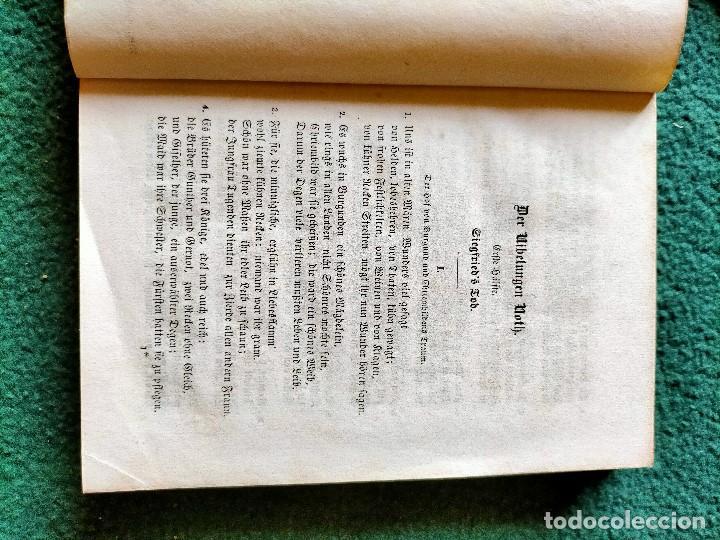 Libros antiguos: ANTIGUO LIBRO LENGUA ALEMANA. LA CANCIÓN DE NIBELUNG DEL ALEMÁN MEDIO. BERLÍN 1854 - Foto 12 - 222749216