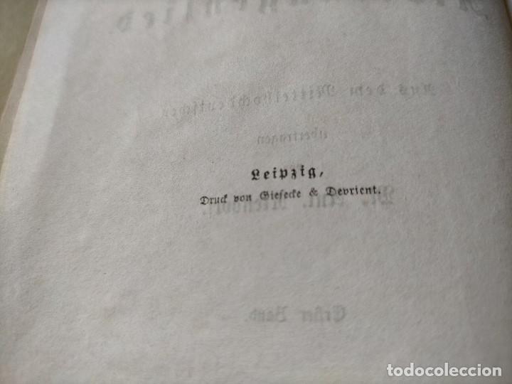 Libros antiguos: ANTIGUO LIBRO LENGUA ALEMANA. LA CANCIÓN DE NIBELUNG DEL ALEMÁN MEDIO. BERLÍN 1854 - Foto 4 - 222749216