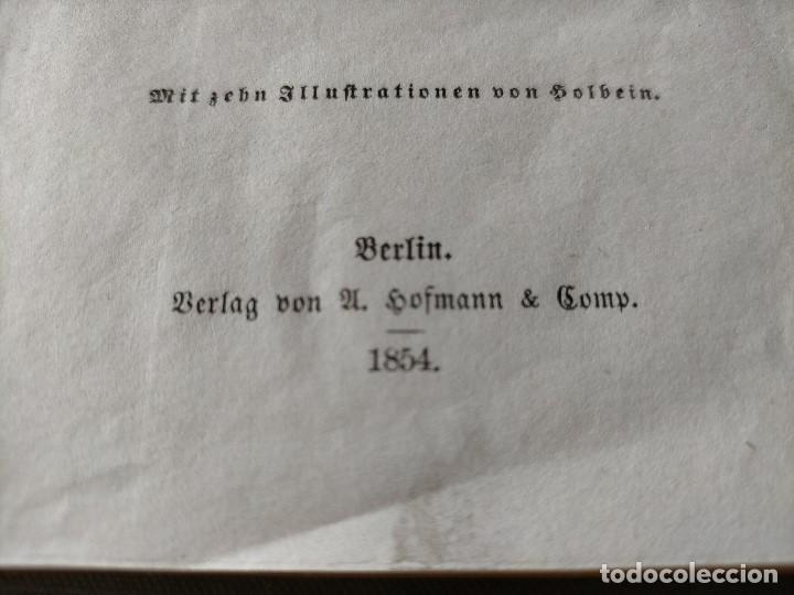 Libros antiguos: ANTIGUO LIBRO LENGUA ALEMANA. LA CANCIÓN DE NIBELUNG DEL ALEMÁN MEDIO. BERLÍN 1854 - Foto 3 - 222749216