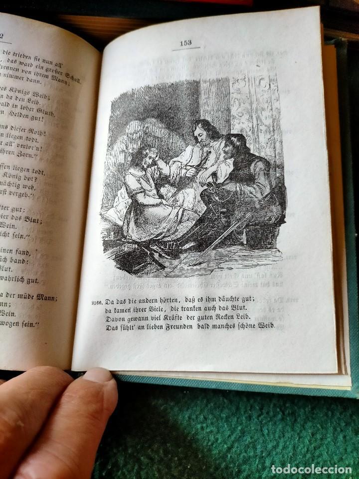 Libros antiguos: ANTIGUO LIBRO LENGUA ALEMANA. LA CANCIÓN DE NIBELUNG DEL ALEMÁN MEDIO. BERLÍN 1854 - Foto 6 - 222749216