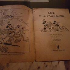 Libros antiguos: MINI Y EL PATO MOBY WALT DISNEY. Lote 222916146