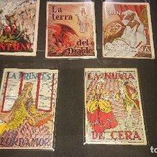 Libri antichi: LOTE DE 5 MINI CUENTOS ANTIGUOS - LA RONDALLA CATALANA , LEER DESCRIPCION. Lote 223052987