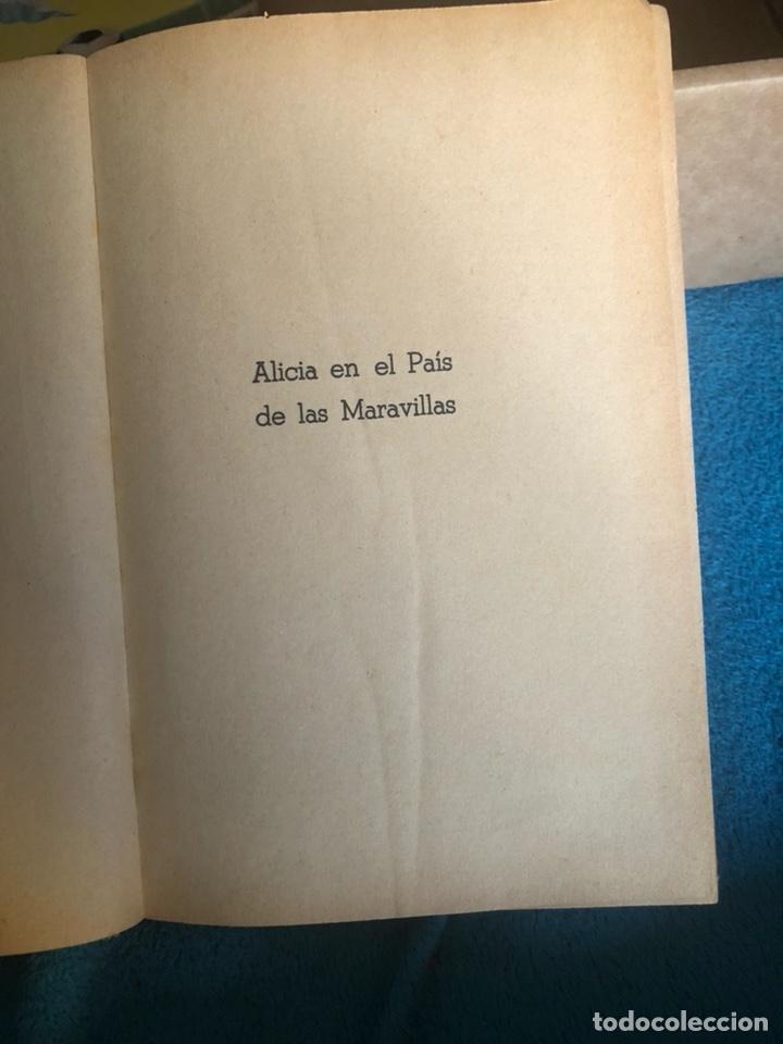Libros antiguos: Alicia en el pais de las maravillas, edición mejicana - Foto 3 - 223689840