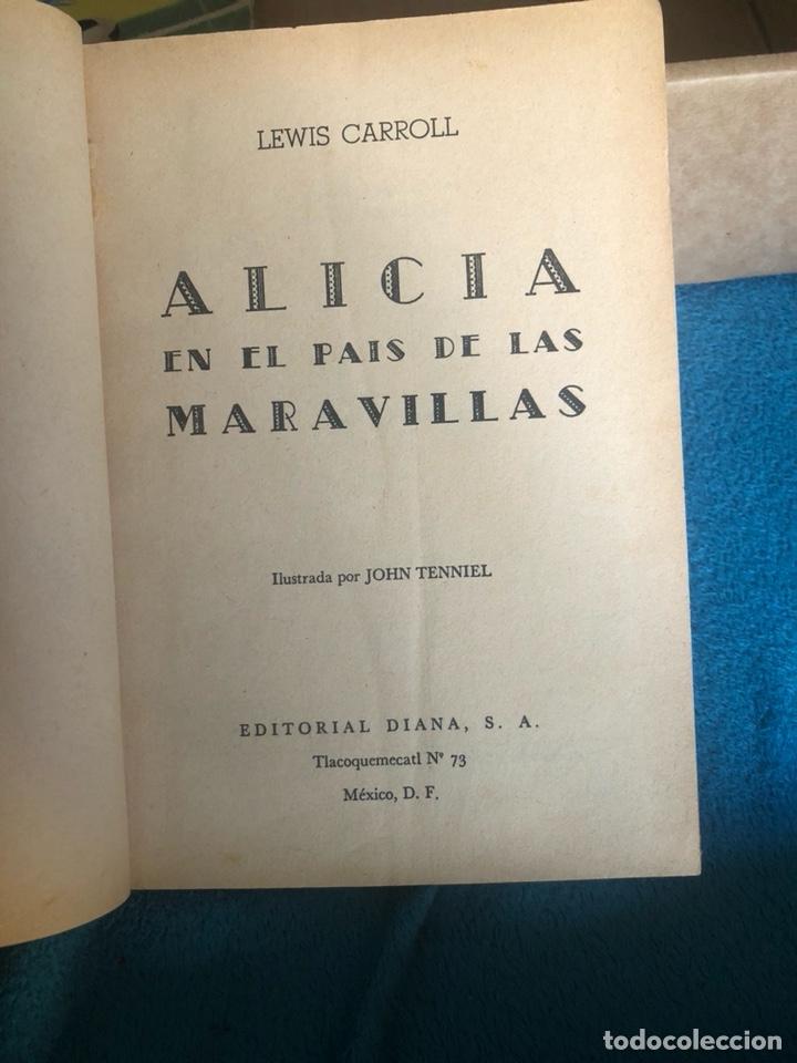 Libros antiguos: Alicia en el pais de las maravillas, edición mejicana - Foto 4 - 223689840