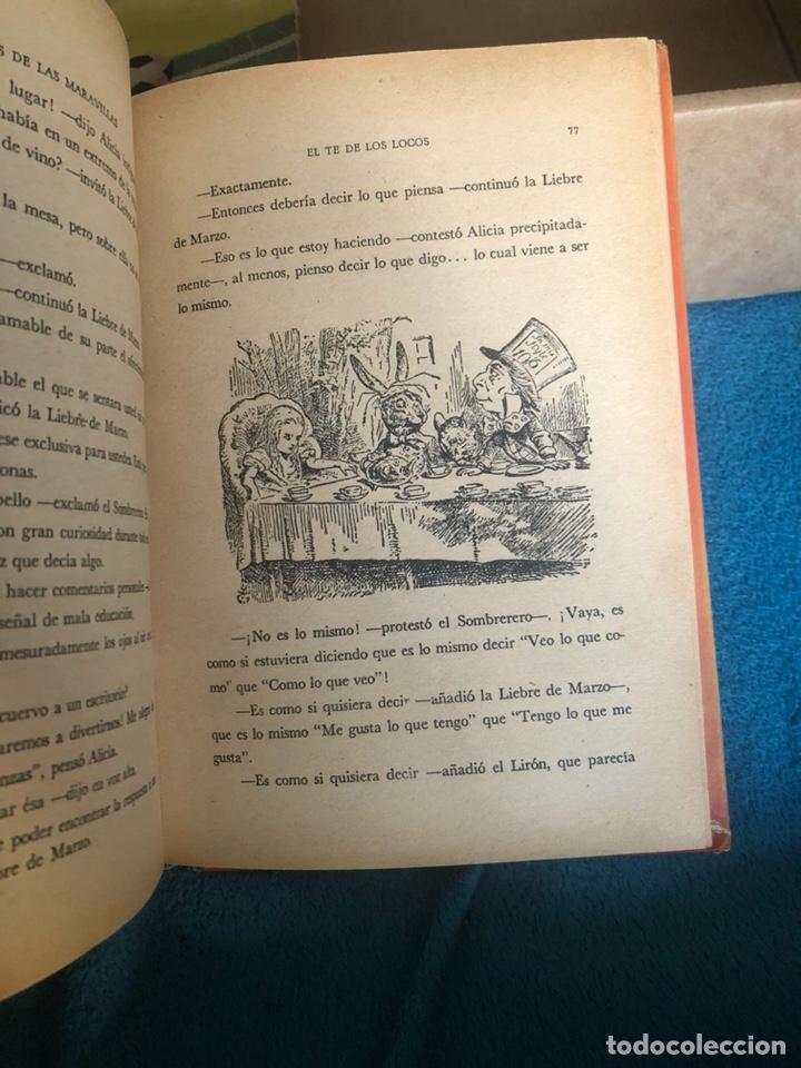 Libros antiguos: Alicia en el pais de las maravillas, edición mejicana - Foto 5 - 223689840