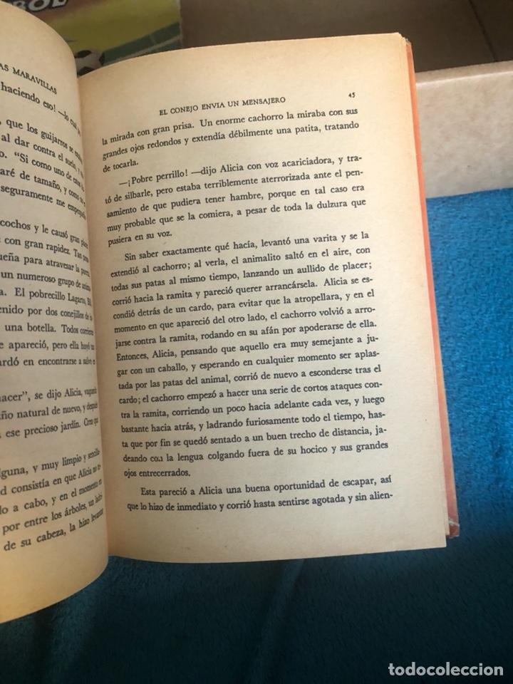 Libros antiguos: Alicia en el pais de las maravillas, edición mejicana - Foto 6 - 223689840