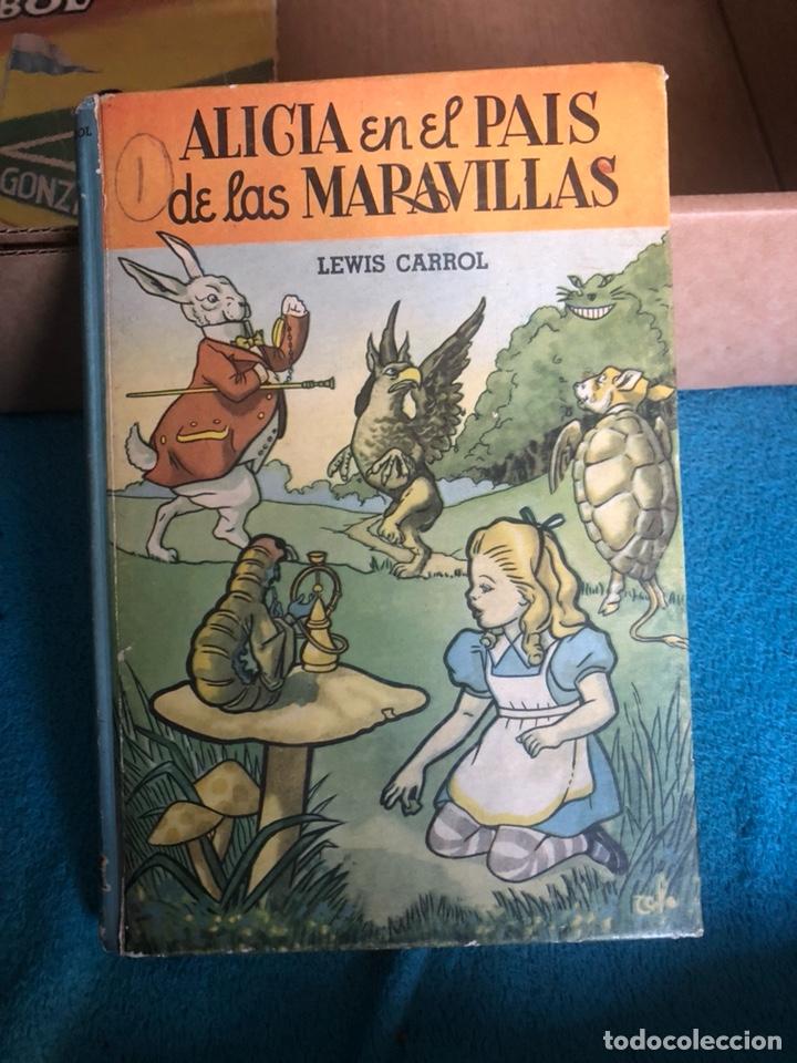 ALICIA EN EL PAIS DE LAS MARAVILLAS, EDICIÓN MEJICANA (Libros Antiguos, Raros y Curiosos - Literatura Infantil y Juvenil - Cuentos)