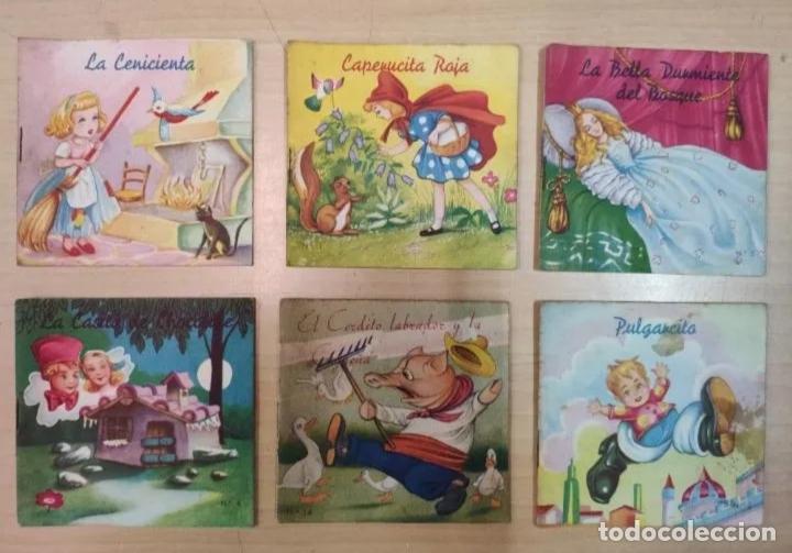 Libros antiguos: CUENTITOS FHER - AÑOS 50 - CONTIENE 6 CUENTOS - Foto 2 - 223993297