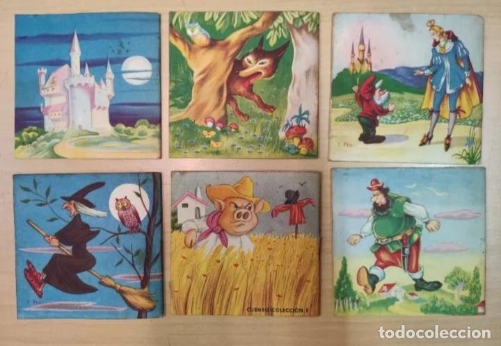 Libros antiguos: CUENTITOS FHER - AÑOS 50 - CONTIENE 6 CUENTOS - Foto 3 - 223993297