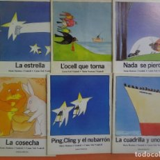Libros antiguos: LOTE DE 6 CUENTOS INFANTILES ED CASALS ,AÑOS 80, VER FOTOS. Lote 224093100