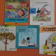 Libros antiguos: LOTE DE 5 CUENTOS INFANTILES VARIADOS, EN CATALÁN, VER FOTOS. Lote 224093457