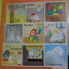 Libros antiguos: LOTE DE 9 CUENTOS INFANTILES VARIADOS, ED CASALS, PRIMERA EDICIÓN 1984, VER FOTOS. Lote 224093867