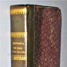 Libros antiguos: HISTORIA DE DON CINCINATO AJENJO Y DE SUS ESFUERZOS Y TRABAJOS PARA MEJORAR LA AGRICULTURA.. Lote 224386331