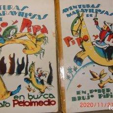 Livres anciens: LOTE DE 6 EJEMPLARES CUENTOS-PIPO Y PIPA- EDITORIAL ESTAMPA. Lote 225816050