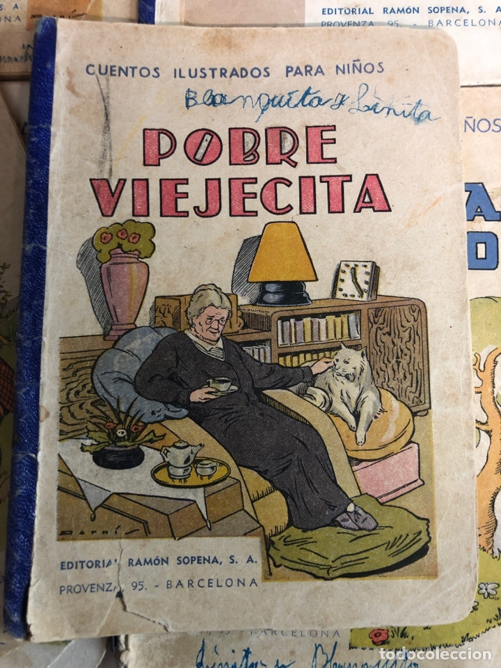 Libros antiguos: Lote de 18 cuentos ilustrados para niños de la editorial ramon sopena - Foto 3 - 226346596