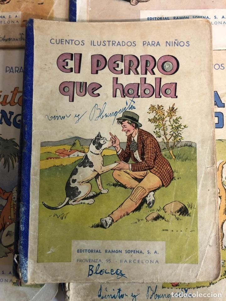 Libros antiguos: Lote de 18 cuentos ilustrados para niños de la editorial ramon sopena - Foto 4 - 226346596