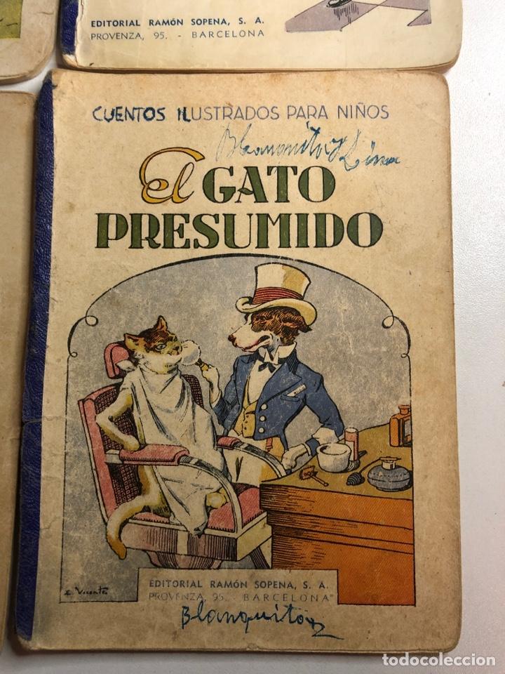 Libros antiguos: Lote de 18 cuentos ilustrados para niños de la editorial ramon sopena - Foto 5 - 226346596