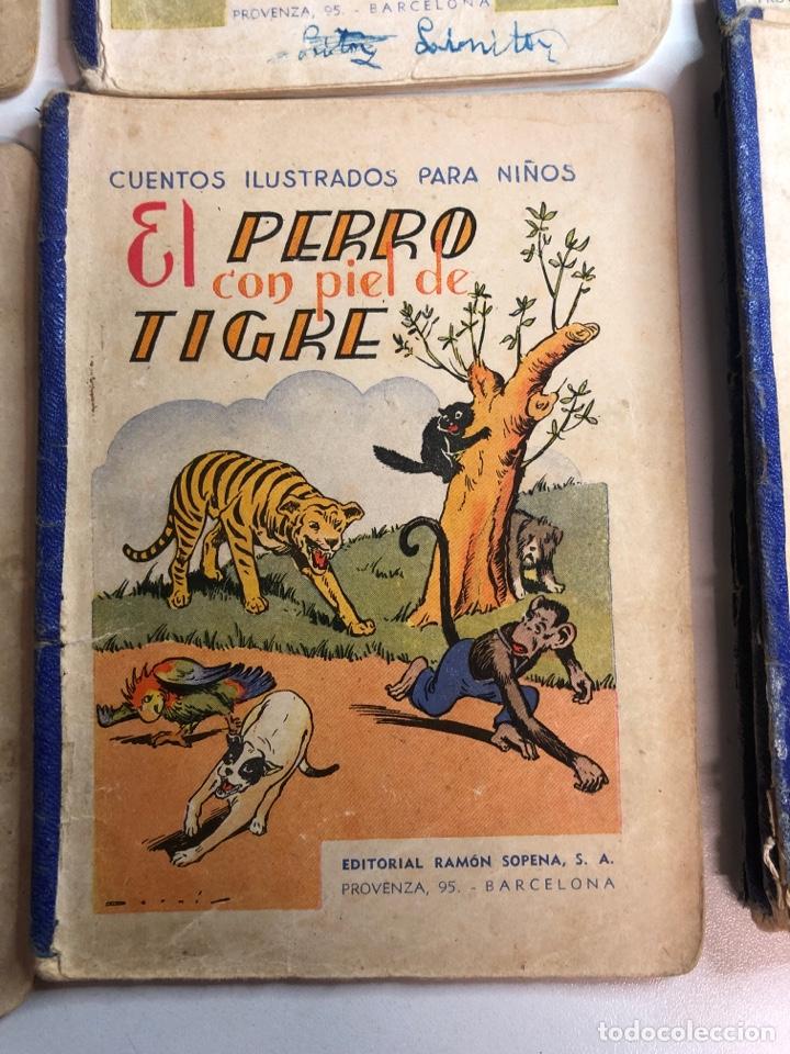 Libros antiguos: Lote de 18 cuentos ilustrados para niños de la editorial ramon sopena - Foto 6 - 226346596