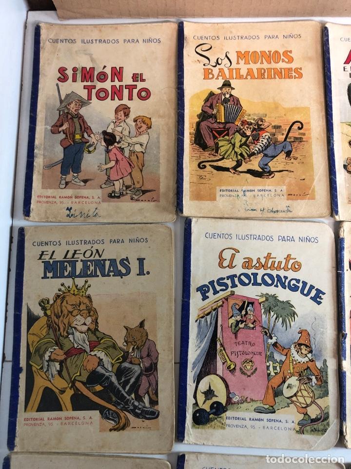 Libros antiguos: Lote de 18 cuentos ilustrados para niños de la editorial ramon sopena - Foto 10 - 226346596
