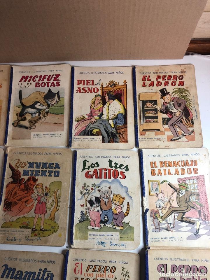 Libros antiguos: Lote de 18 cuentos ilustrados para niños de la editorial ramon sopena - Foto 11 - 226346596