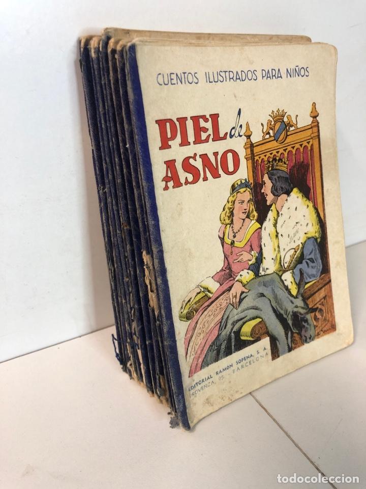 Libros antiguos: Lote de 18 cuentos ilustrados para niños de la editorial ramon sopena - Foto 14 - 226346596