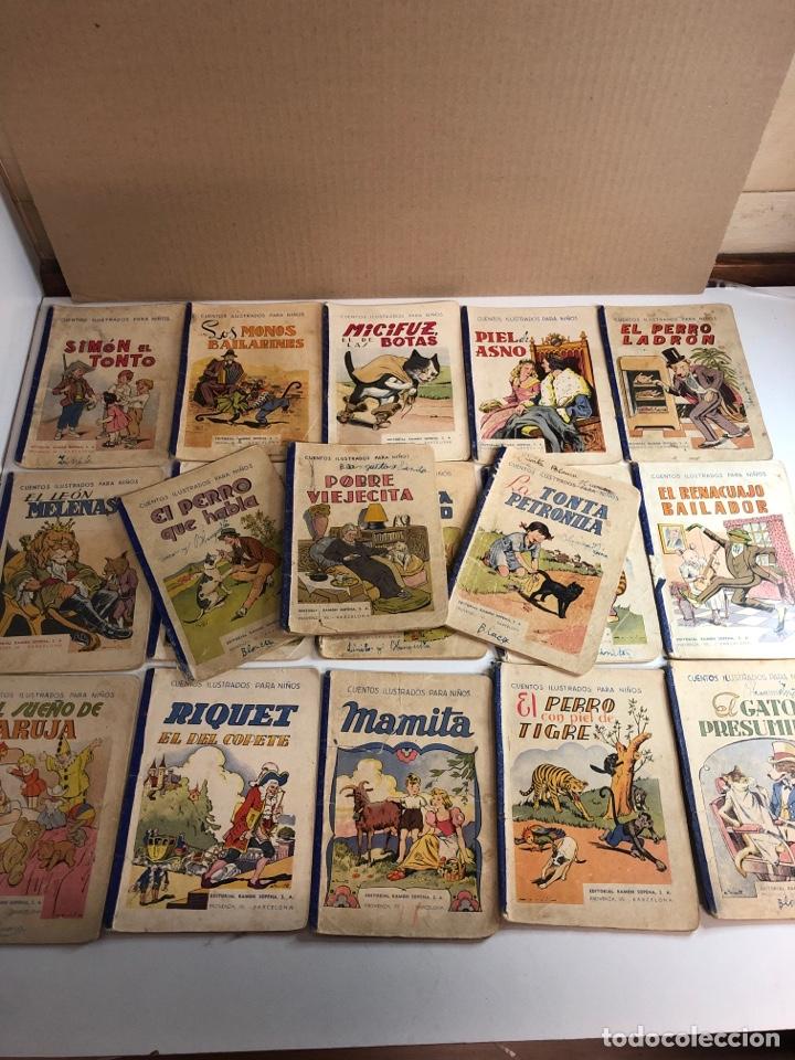 LOTE DE 18 CUENTOS ILUSTRADOS PARA NIÑOS DE LA EDITORIAL RAMON SOPENA (Libros Antiguos, Raros y Curiosos - Literatura Infantil y Juvenil - Cuentos)