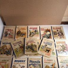 Libros antiguos: LOTE DE 18 CUENTOS ILUSTRADOS PARA NIÑOS DE LA EDITORIAL RAMON SOPENA. Lote 226346596