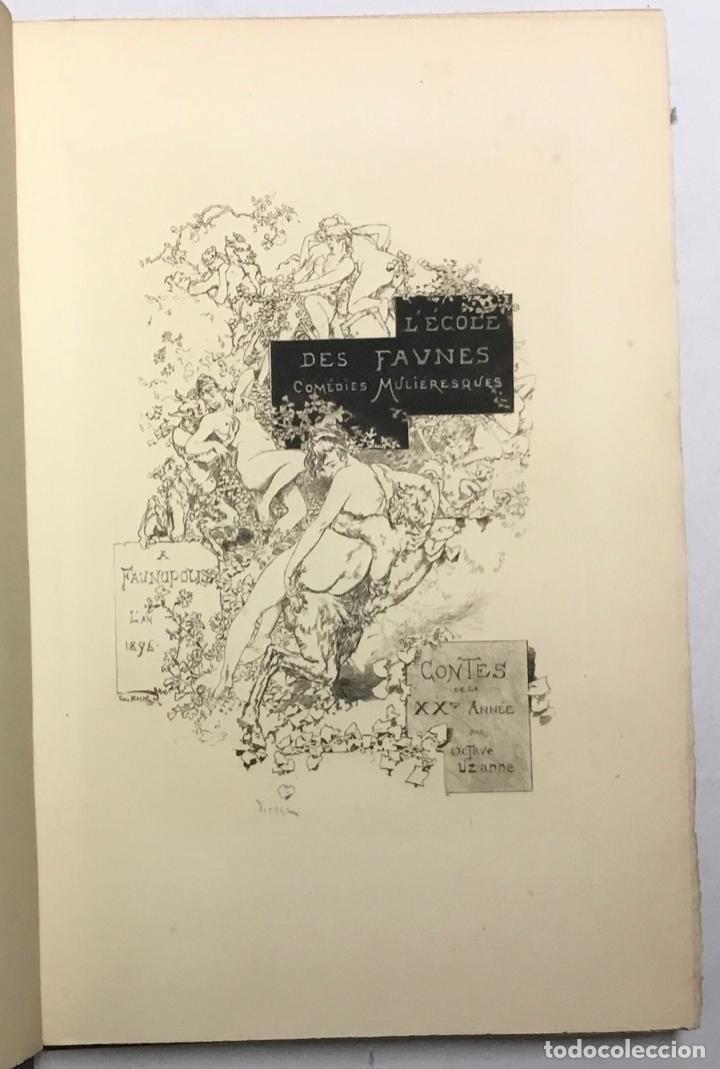 Libros antiguos: CONTES DE LA VINGTIÈME ANNÉE. Bric à Brac de lAmour. Calendrier de Vénus.... - UZANNE. - Foto 3 - 123254928