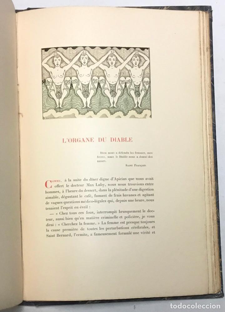 Libros antiguos: CONTES DE LA VINGTIÈME ANNÉE. Bric à Brac de lAmour. Calendrier de Vénus.... - UZANNE. - Foto 7 - 123254928