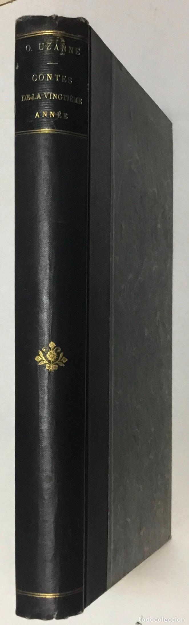 Libros antiguos: CONTES DE LA VINGTIÈME ANNÉE. Bric à Brac de lAmour. Calendrier de Vénus.... - UZANNE. - Foto 8 - 123254928