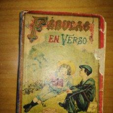 Libros antiguos: FÁBULAS EN VERSO. FELIX MARIA SAMANIEGO.E.-SATURNINO CALLEJA.ENCUADERNACIÓN ANTIGUA.W. Lote 228261075