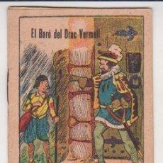 Libros antiguos: CUENTO COLECCION CONTES D'EN FALUGA SERIE 1 Nº 12 EL BARO DEL DRAC VERMELL ILUSTRACIONES DE TINEZ. Lote 228298120
