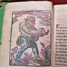Libros antiguos: LIBRO,FABULAS DE ESOPO,SIGLO XIX, AÑO 1845,GRABADOS,PARTE PINTADOS DE EPOCA,CUENTO.LUGAR BARCELONA. Lote 228709680