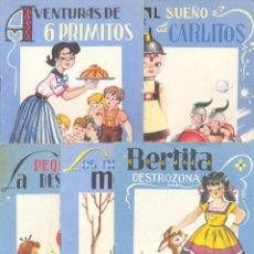 """Libros antiguos: CUENTOS. COLECCIÓN """"GOLONDRINA"""". EDITORIAL ROMA - BARCELONA. CIRCA 1960. Lote 228742595"""