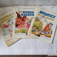Libros antiguos: CUENTOS ILUSTRADOS PARA NIÑOS DE RAMÓN SOPENA MUY ANTIGUOS - 3 EJEMPLARES. Lote 229067525