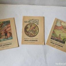 Libri antichi: 3 CUENTOS MUY ANTIGUOS CON PUBLICIDAD DE SEDAS GÜTERMANN. Lote 229074310