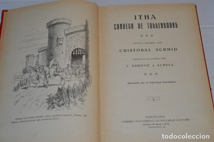 Libros antiguos: Originales / 3 Libros variados / Principios de 1900 / Autor CRISTÓBAL SCHMID - ¡Mira fotos/detalles! - Foto 4 - 230187115