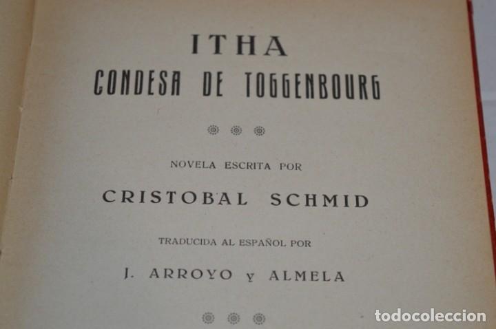 Libros antiguos: Originales / 3 Libros variados / Principios de 1900 / Autor CRISTÓBAL SCHMID - ¡Mira fotos/detalles! - Foto 5 - 230187115