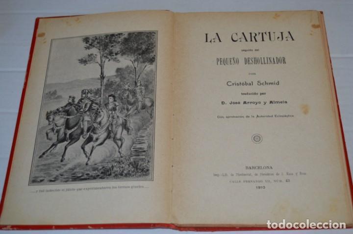 Libros antiguos: Originales / 3 Libros variados / Principios de 1900 / Autor CRISTÓBAL SCHMID - ¡Mira fotos/detalles! - Foto 9 - 230187115