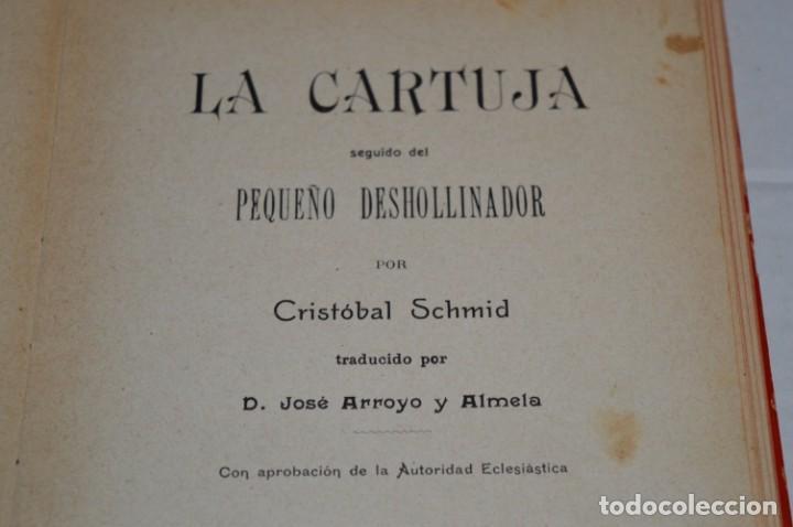 Libros antiguos: Originales / 3 Libros variados / Principios de 1900 / Autor CRISTÓBAL SCHMID - ¡Mira fotos/detalles! - Foto 10 - 230187115