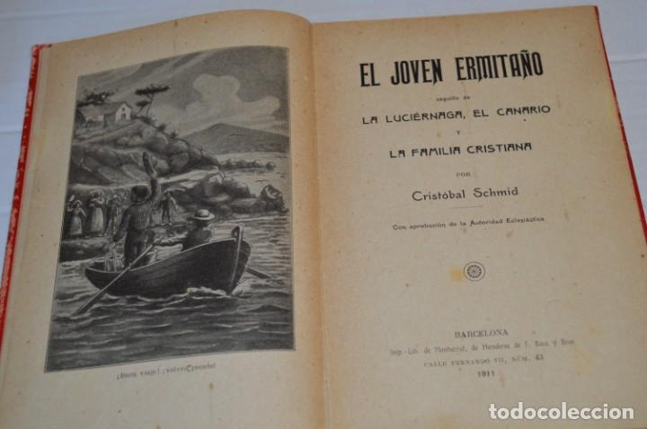Libros antiguos: Originales / 3 Libros variados / Principios de 1900 / Autor CRISTÓBAL SCHMID - ¡Mira fotos/detalles! - Foto 14 - 230187115
