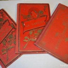 Libros antiguos: ORIGINALES / 3 LIBROS VARIADOS / PRINCIPIOS DE 1900 / AUTOR CRISTÓBAL SCHMID - ¡MIRA FOTOS/DETALLES!. Lote 230187115