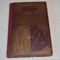 Libros antiguos: VIDA SAN LUIS GONZAGA / BIBLIOTECA ESMERALDA, PRINCIPIOS 1900 / LIBRERÍA MONSERRAT BARCELONA ¡MIRA!. Lote 230195485