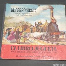 Libros antiguos: EL FERROCARRIL DESDE SUS ORÍGENES HASTA EL PRIMERO QUE CIRCULÓ EN ESPAÑA. EDITORIAL SIBILS BARCELONA. Lote 230595595